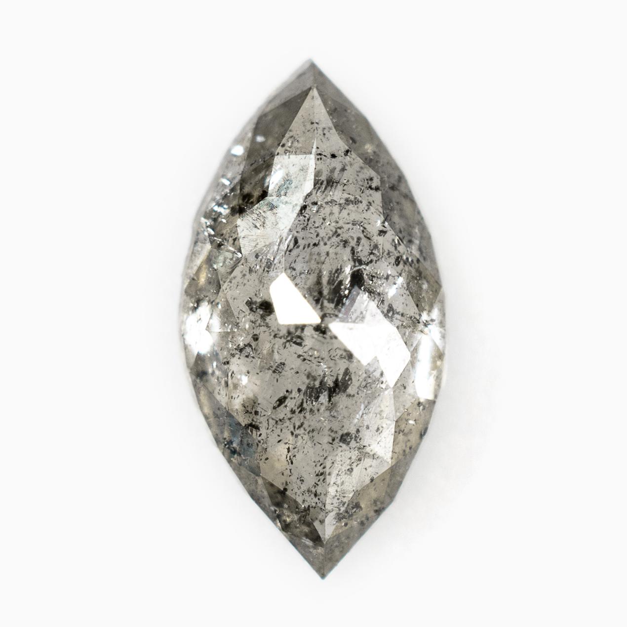 OOAK 0.70Tcw5.70mm DFJ0137 Clear Grey Salt /& Pepper Rose Diamond Rough Diamond Rose Cut Loose Diamonds Raw Diamond Faceted Cabochon